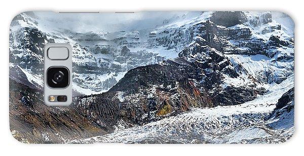 The Black Snowdrift Glacier Galaxy Case
