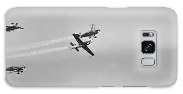 Galaxy Case featuring the photograph The Blades Aerial Gymnastics Sunderland Air Show 2014 by Scott Lyons
