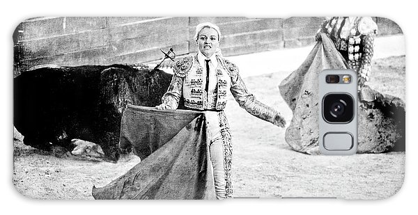 The Blond, The Bull And The Coup De Gras Bullfight Galaxy Case
