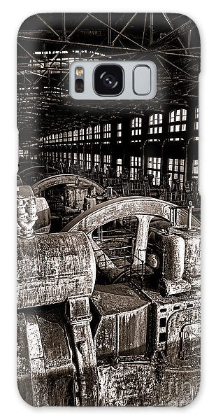 Bethlehem Galaxy Case - The Blower House At Bethlehem Steel  by Olivier Le Queinec