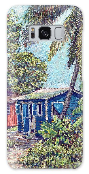 The Blue Cottage Galaxy Case
