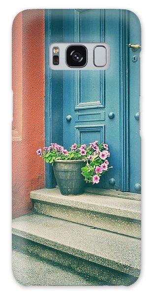 The Blue Door Galaxy Case