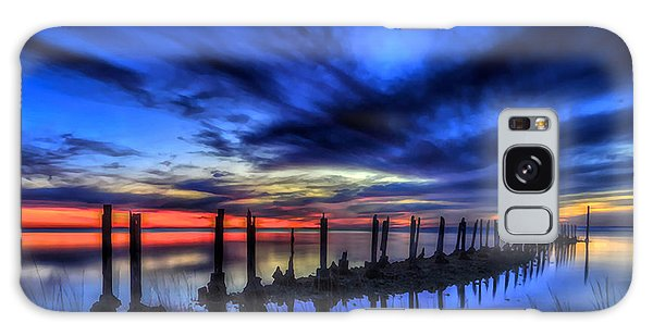The Blue Hour Comes To St. Marks #1 Galaxy Case