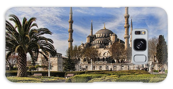 The Blue Mosque In Istanbul Turkey Galaxy Case by David Smith