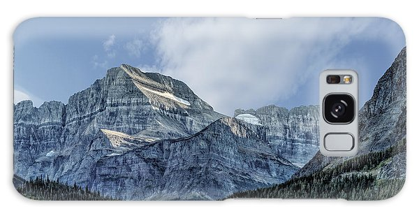 The Blue Mountains Of Glacier National Park Galaxy Case