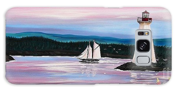 The Blue Nose II At Baddeck Nova Scotia Galaxy Case by Patricia L Davidson