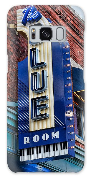 The Blue Room Sign Galaxy Case
