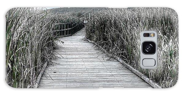 Galaxy Case featuring the photograph The Boardwalk by Michaela Preston