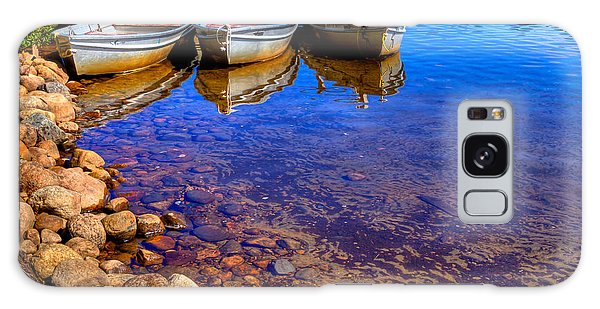 The Boats On White Lake Galaxy Case