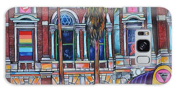 The Bonham Exchange Close Up Galaxy Case by Patti Schermerhorn