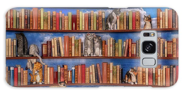 Shelves Galaxy Case - The Book Club by Betsy Knapp