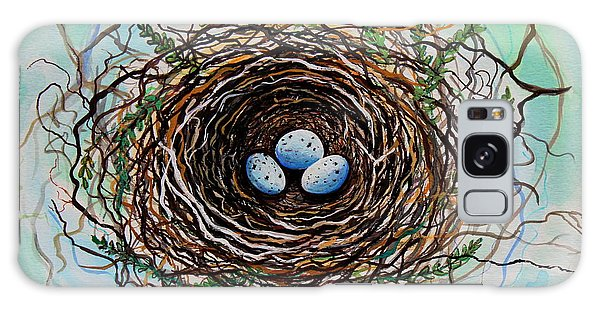 The Botanical Bird Nest Galaxy Case