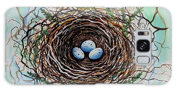 The Botanical Bird Nest Galaxy Case