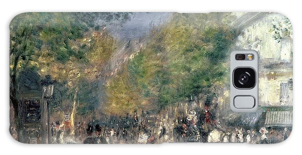 Crt Galaxy Case - The Boulevards  by Pierre Auguste Renoir