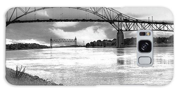 The Bourne And Railroad Bridges Galaxy Case