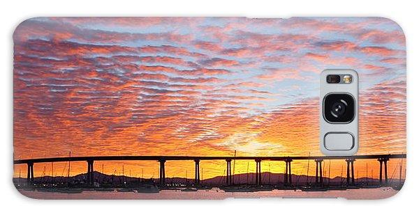 The Break Of Dawn In Coronado Galaxy Case