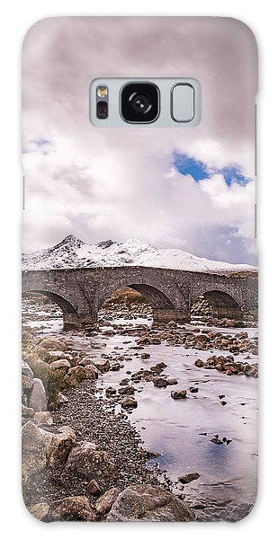 The Bridge At Sligachan On Skye Galaxy Case