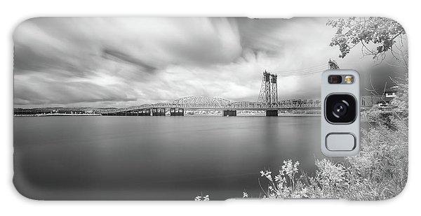 The Bridge Crosses Columbia River Galaxy Case