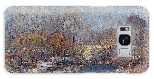 The Bridge  Garfield Park  By William J  Forsyth Galaxy Case