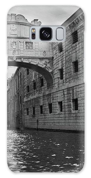 The Bridge Of Sighs, Venice, Italy Galaxy Case
