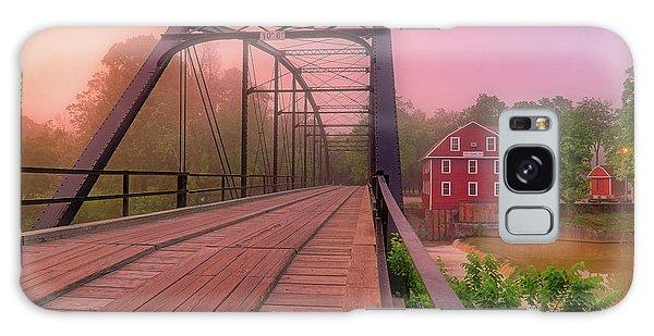The Bridge To War Eagle Mill - Arkansas - Historic - Sunrise Galaxy Case