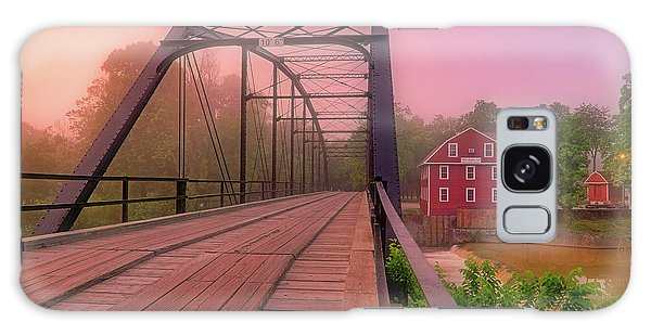 The Bridge To War Eagle Mill - Arkansas - Historic - Sunrise Galaxy Case