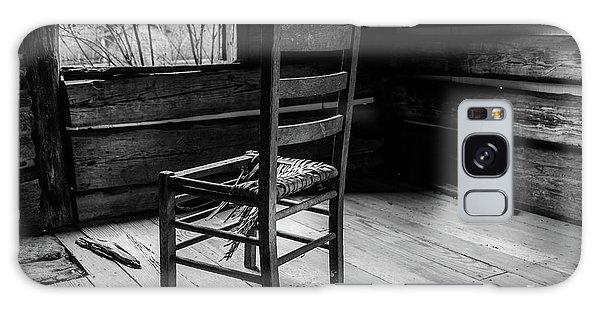Galaxy Case featuring the photograph The Broken Chair by Doug Camara