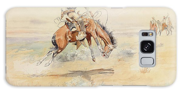 Whip Galaxy Case - The Bronco Buster by Charles Marion Russell