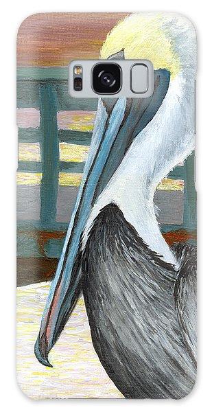 The Brown Pelican Galaxy Case