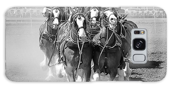 The Budweiser Clydesdales Galaxy Case