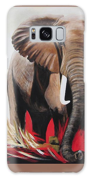 The Bull Elephant - Constitution Galaxy Case by Sigrid Tune