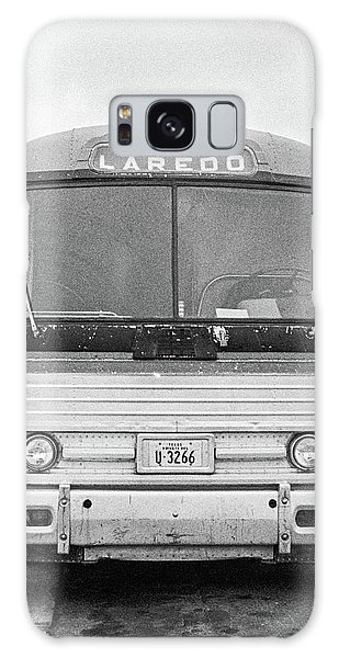 Galaxy Case featuring the photograph The Bus To Laredo by Frank DiMarco