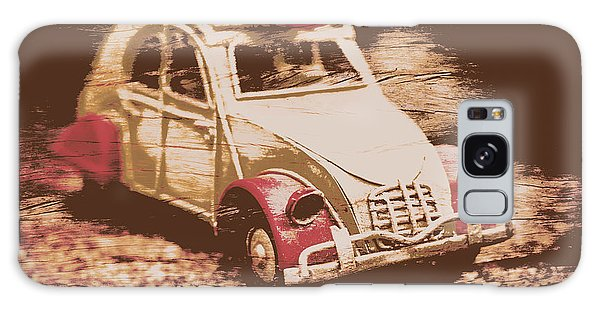 Sport Car Galaxy Case - The Bygone Surfing Holiday by Jorgo Photography - Wall Art Gallery