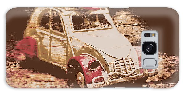 Old Car Galaxy Case - The Bygone Surfing Holiday by Jorgo Photography - Wall Art Gallery