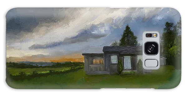 The Cabin On The Hill Galaxy Case