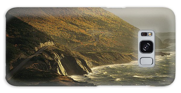 Cabot Trail Galaxy Case - The Cabot Trail Winds Its Way by Raymond Gehman