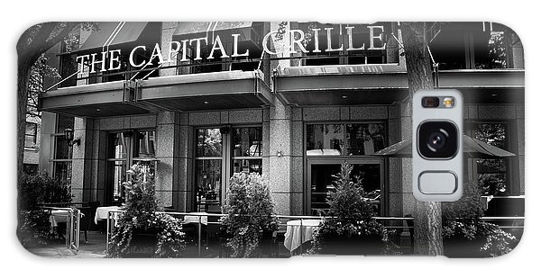 The Capital Grille In Black And White Galaxy Case