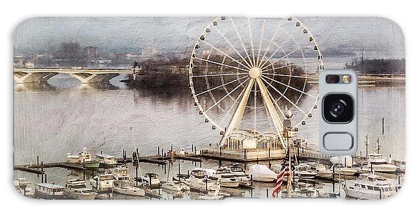 The Capital Wheel At National Harbor Galaxy Case