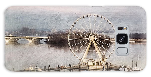 The Capital Wheel At National Harbor Galaxy Case