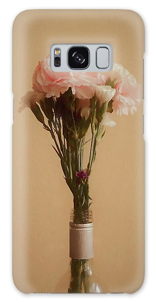 The Carnations Galaxy Case by Ernie Echols