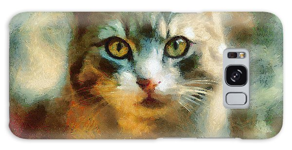 The Cat Eyes Galaxy Case
