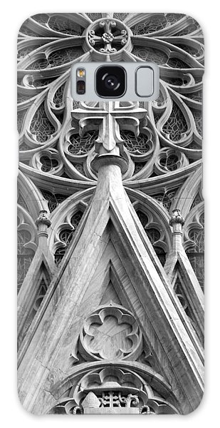 The Cathedral Of St. Patrick Close Up Galaxy Case by Michael Dorn