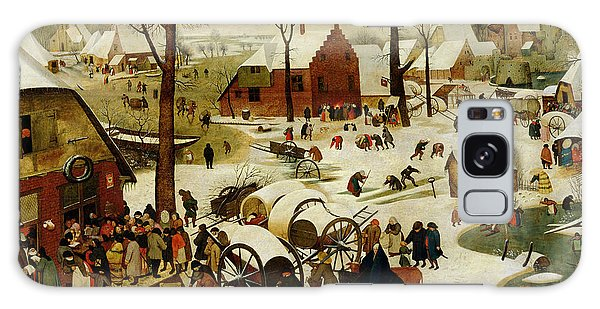 Bethlehem Galaxy Case - The Census At Bethlehem by Pieter the Younger Brueghel