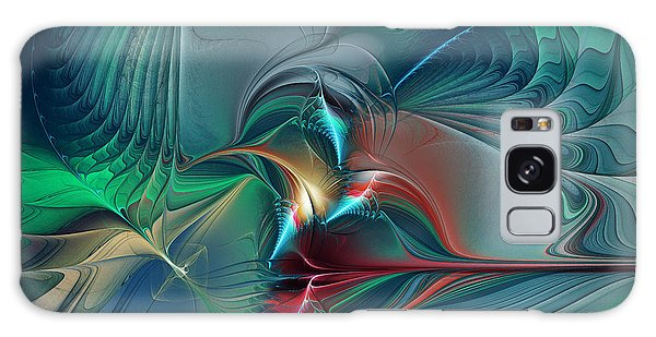 The Center Of Longing-abstract Art Galaxy Case