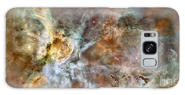 Galaxy Case featuring the photograph The Central Region Of The Carina Nebula by Stocktrek Images