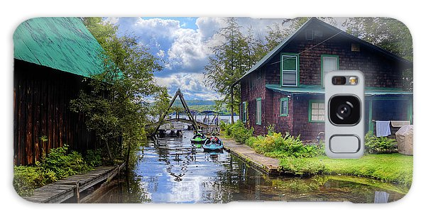 Galaxy Case featuring the photograph The Channel At Palmer Point by David Patterson
