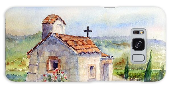 The Chapel - Castello Di Amorosa Galaxy Case