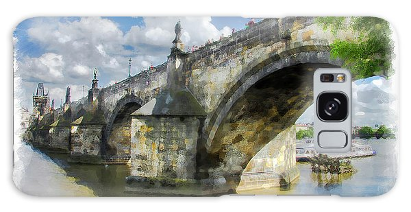 The Charles Bridge - Prague Galaxy Case
