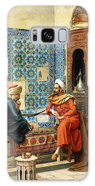 Islam Galaxy Case - The Chess Game by Ludwig Deutsch