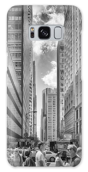 Galaxy Case featuring the photograph The Chicago Loop by Howard Salmon